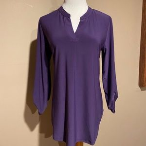 Cato purple tunic